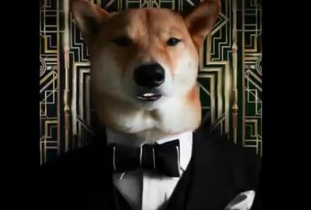 animate a talking dog image
