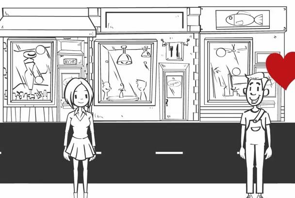 do Custom Images Whiteboard Animation Video