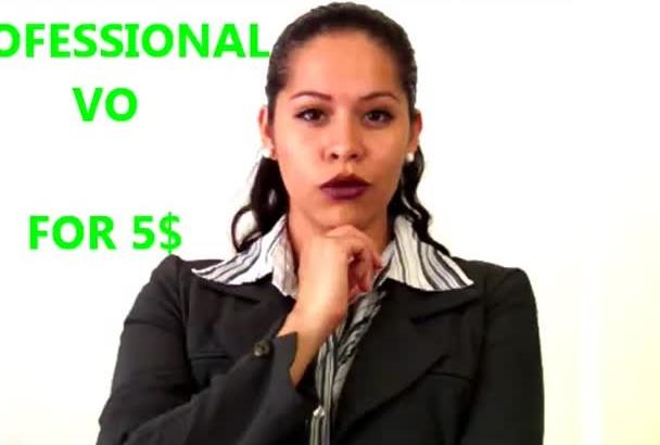 do Professional Spanish VO