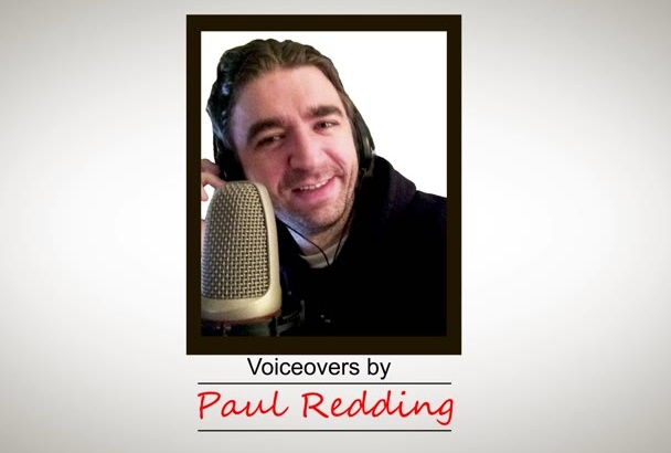 record a voiceover  in American English in 24 hours