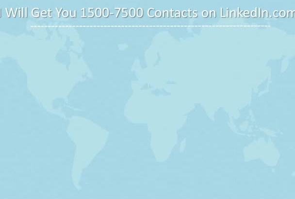 give 1500 Linkedin Contact Of Members To Invite