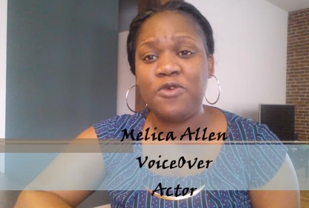 record a Jamaican Accent female voice over