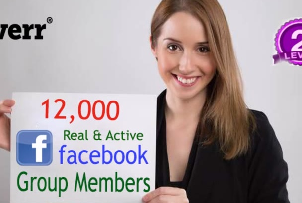 add 12,000 Real Active Facebook Group Members in 24 Hours