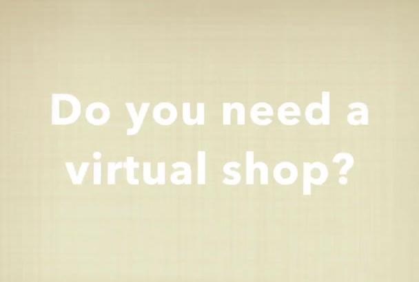 create your own virtual shop