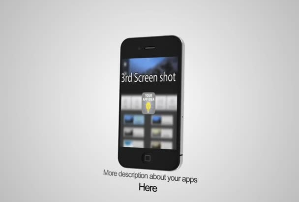 make a mobile app promo video ios or android