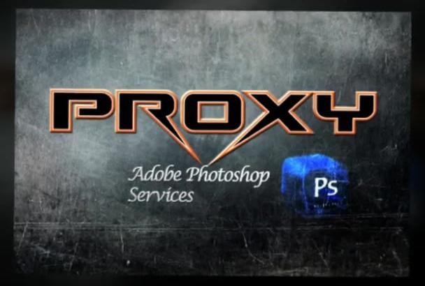 do World Class Photo Editing using Photoshop