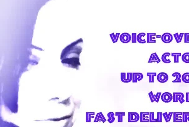do your voice over with neutral American accent