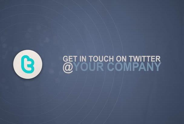 create Creative Social Media Outro for your videos