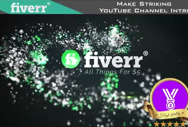 use Your Logo To Make Striking YouTube Channel Intro