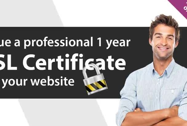 issue a 1 year SSL Certificate