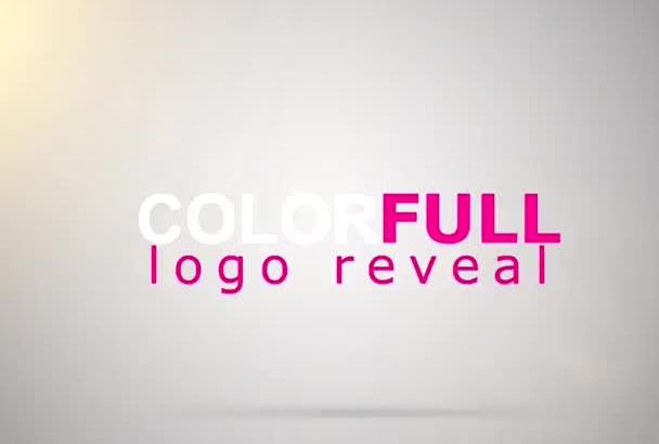do colorfull LOGO reveal