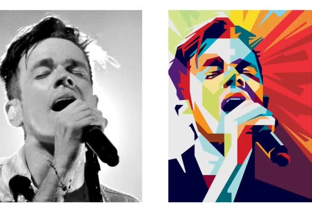 edit your Photo in to a High Quality WPAP
