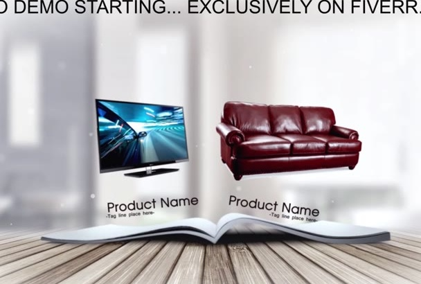 design Your Store Promo Catalog Video in HD 1080P