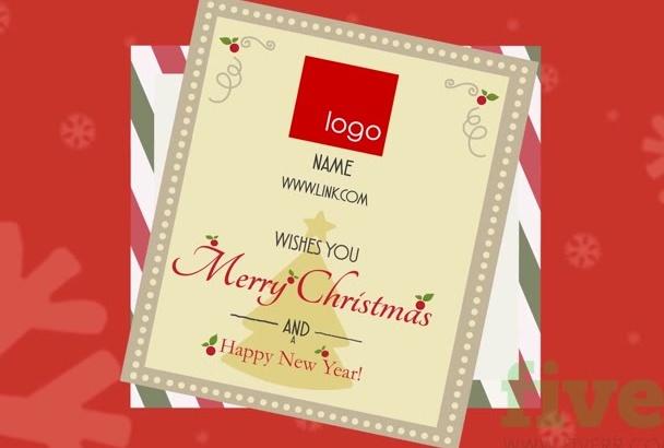 make a CHRISTMAS video greeting