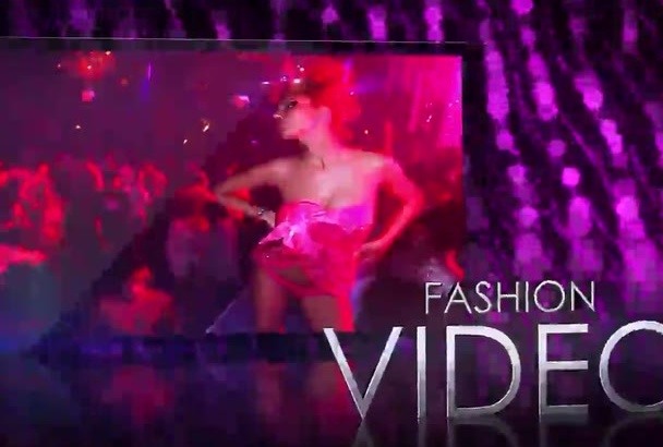 create this FASHION promotional video