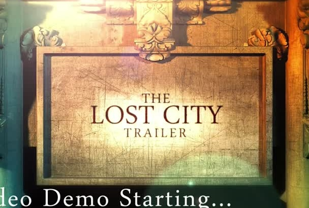 design Your Epic Video Movie Trailer In HD 1080P