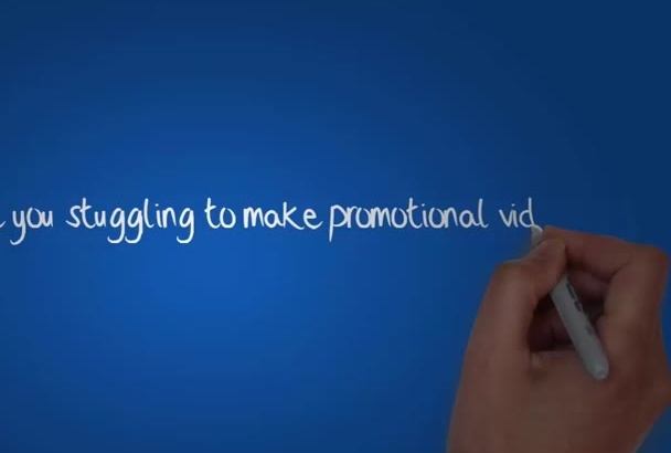 make you a PROFESSIONAL animated drawn video for any purpose
