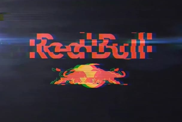 make your logo with a Glitchy animation intro HD