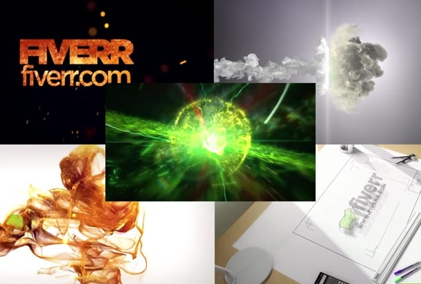 create Cinematic intro for your logo