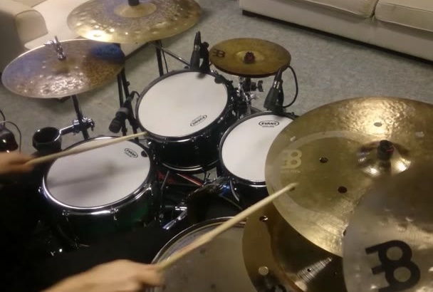 record Professional Quality Drums to your song