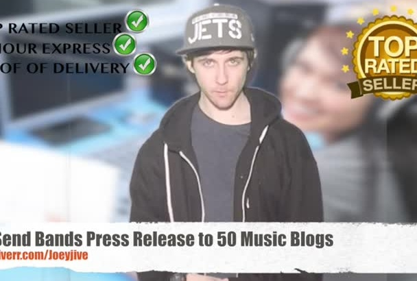 send your Band Press Release to 50 Music Blogs