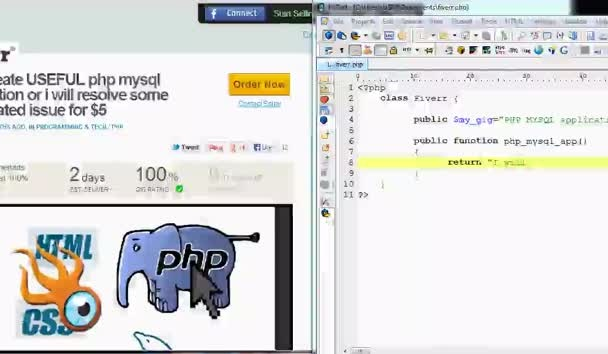 create useful PHP mysql application or i will resolve some php related issue