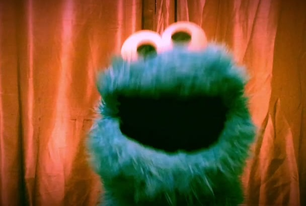 record a personal message from the Cookie Monster