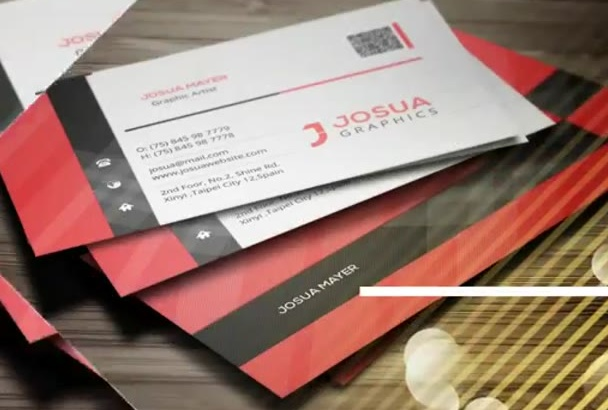 design professional smashing 2 sided printable business card