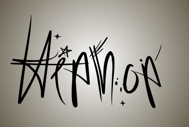 create a Hip Hop Graffiti Typography Animation