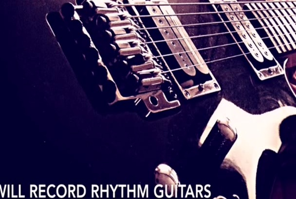 record rhythm guitars for your song