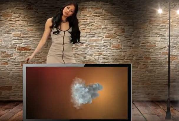 design SEXY dance video advertisement