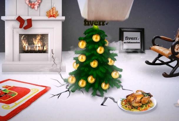 make Merry Crazy Christmas Funny Opener