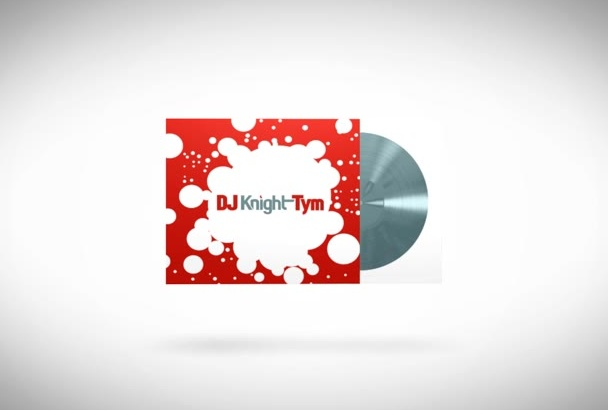design a double sided business card for DJs