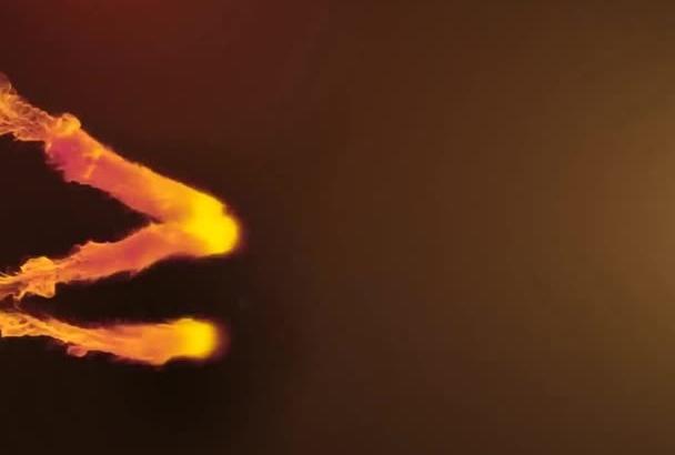 create amazing smoke opener animation