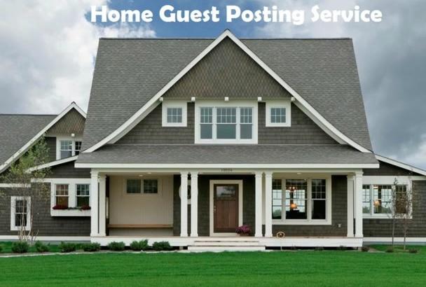 live guest post on PR2 DA43 PA17 Home blog