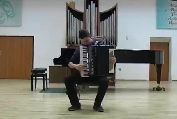 teach you to play on accordion via Skype