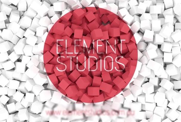 make a custom animation of your logo