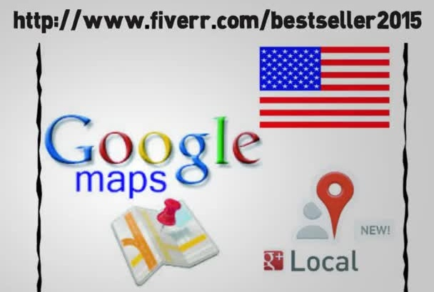 listing 25 google maps citations for your USA local business
