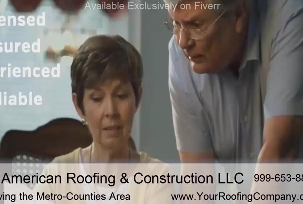customize a Video Specifically for Local Roofers