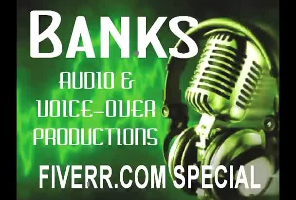 record THE best American male voice over gig on Fiverr