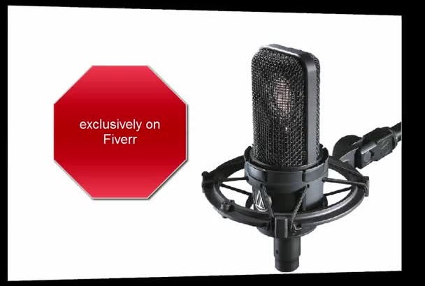 record a Professional Voice Over Ukrainian Male