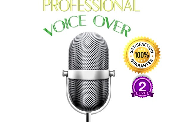 record a Professional Voice Over and MORE