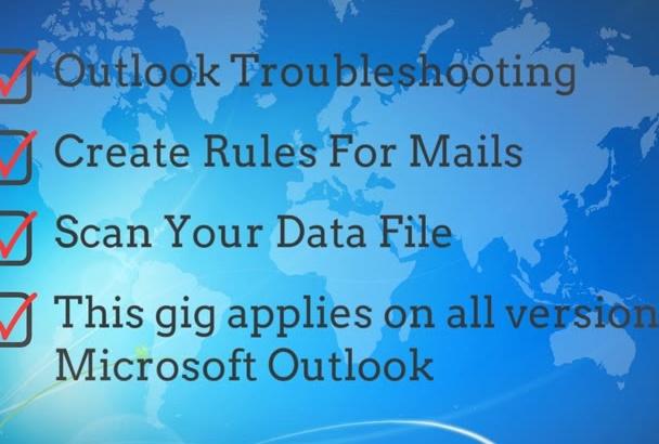 configure Diagnose and Fix Outlook Error