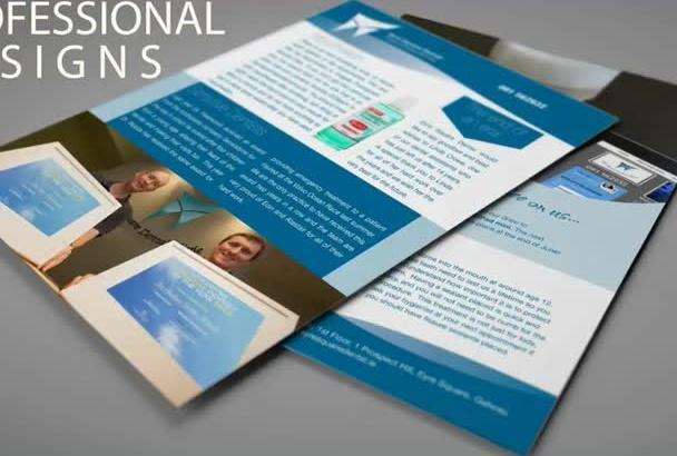 design awesome flyer or brochure