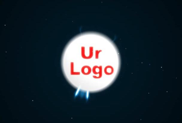 do lighting sphere logo animation or intro