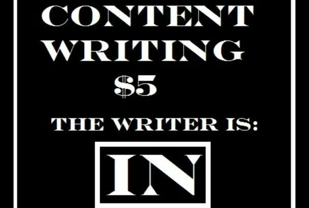 write your content 100 words 1 day delivery