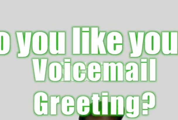 create a rap voicemail greeting message for you