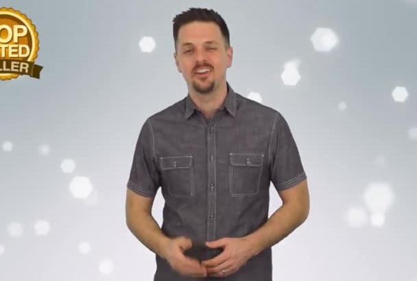 record a professional spokesman video in HD