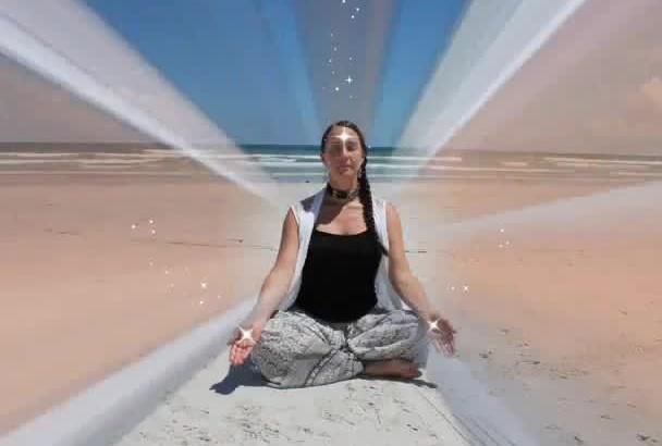 send Reiki and crystal healing to you