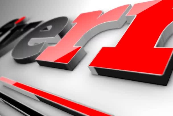 create this Glossy and Elegant 3D video for your logo